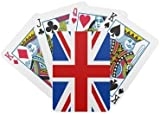Union Jack Playing Cards {Plastic Coated}
