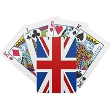 Union Jack Playing Cards {Plastic Coated}