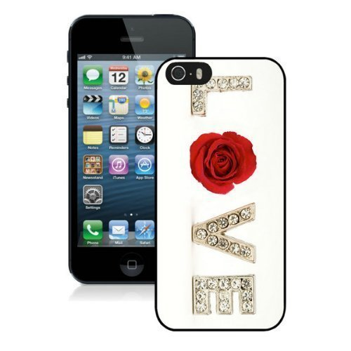 All Love Heart Valentines Day Pictures Design Cases For Iphone 5 5S Black