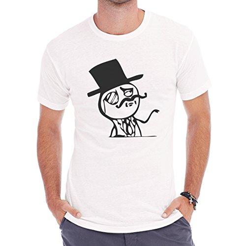 Like A Boss Like A Sir Herren T-Shirt Weiß
