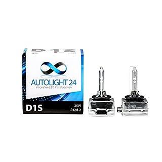 AUTOLIGHT 24 Xenon Brenner D1S HID Scheinwerferlampe 6000 Kelvin Mehr Licht 85V 35W PK32d-2 DUO BOX 2 Lampen