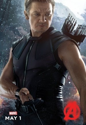 THE AVENGERS : AGE OF ULTRON - Hawkeye - US Imported Movie Wall Poster Print - 30CM X 43CM Brand New