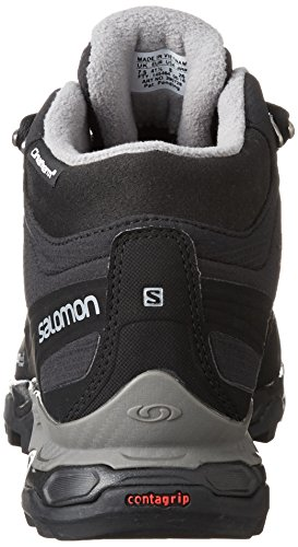 Salomon Shelter Spikes CS WP Scarpa invernali Black Black Pewter