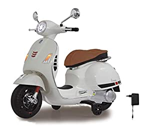 Jamara Vespa Moto para niños Color Blanco 460346
