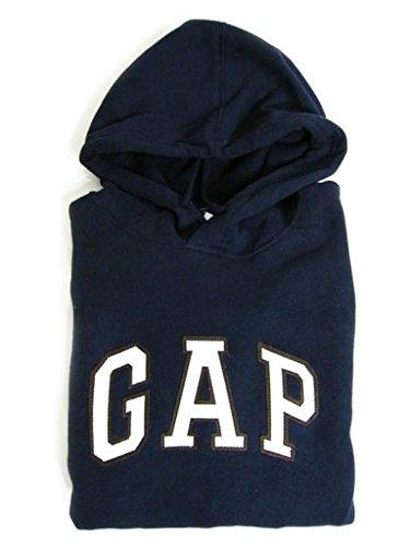GAP Damen Fleece Arch Logo Pullover Hoodie (Medium, Blau) -