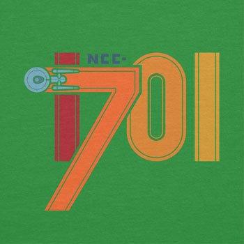 NERDO - NCC-1701 - Damen T-Shirt Grün