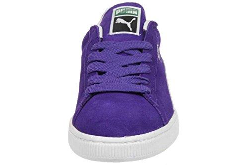 Puma Suede Classic NM Eco Leather Sneaker Men Trainers purple 354764 03 team violet-white-silver