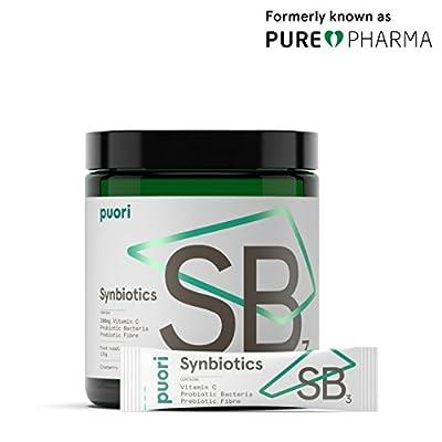 PUREPHARMA Synbiotics SB3 - Probiotic, Prebiotic & Vitamin C by Purepharma, APS