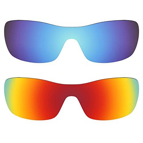 Revant Ersatzlinsen für Oakley Antix Polarisiert 2 Paar Kombipack K002