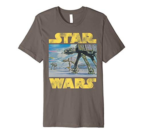 Star Wars Vintage Imperial AT-AT Battle of Hoth T-Shirt -