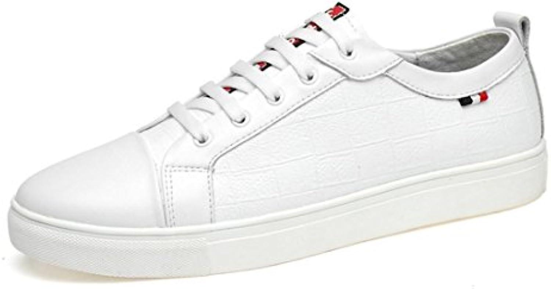 Herren Das neue Freizeit Lederschuhe Große Größe Lässige Schuhe Flache Schuhe Ausbilder EUR GRöSSE 39 46