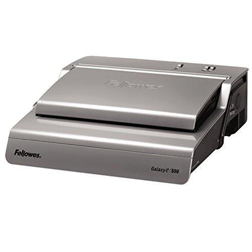 Fellowes 5622101 Profi Büro Plastikbindegerät Galaxy-E 500 platin/schwarz