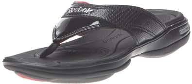 Reebok Easytone Flip III 170086, Damen Sportschuhe - Fitness, Schwarz (black/rivet grey/mazz red 1), EU 42.5 (UK 8.5)