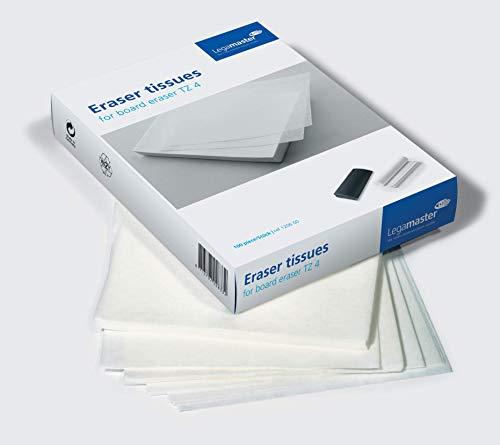 Legamaster 7-120600 Löschpapier zum Nachfüllen des Whiteboard-Löschers TZ 4, 100 Blatt, 22 x 16,2 cm