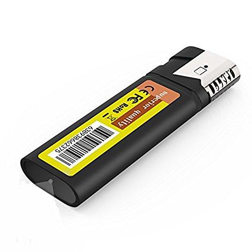 feuerzeug mit kamera Mini Kamera,HD Tragbare Mini Überwachungskamera Videorekorder Camcorder für Zuhause/Büro / Garten/Garage / Indoor/Outdoor Sicherheit Kamera