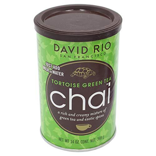 David Rio Tortoise Green Tea Chai Gewürzteemischung 2x398g