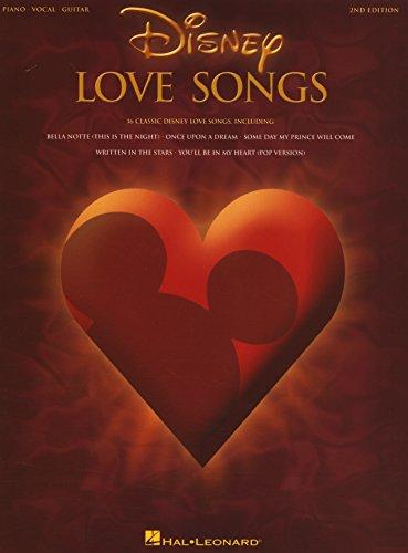 Disney Love Songs  Songbook (English Edition)