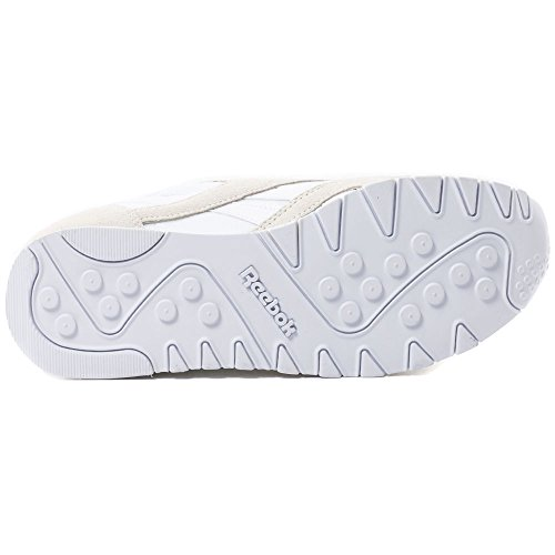 Reebok Classic Nylon, Sneakers da Uomo (Weiß/Grau)