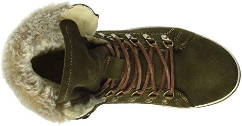 Tamaris 262, Bottes Rangers Femme Vert (Olive 722)
