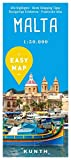 EASY MAP Malta: 1:50.000 (KUNTH EASY MAP / Reisekarten) -
