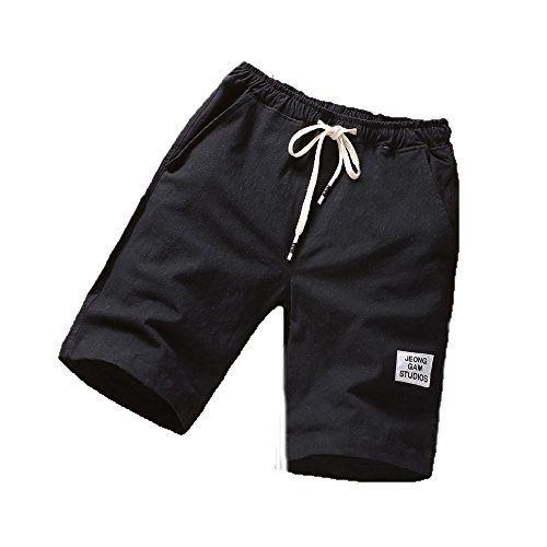 JKLEUTRW Herren Shorts Männer Simple Performance Kompression Strandhosen Sport Fitness Laufen Freizeithosen Sportshorts Training Compression Core Stretch Chino Shorts