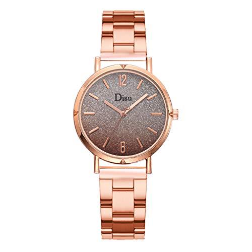 Uhren Damen Frauen Armbanduhr Quarz Arm Uhrenarmband Wrist watch Steel Armband Armband Uhren Überwachung Watch Stahl Analoge Quarz Armbanduhr Uhr ABsoar