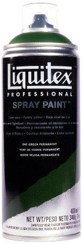 Liquitex  Professional Spray Paint - Acrylfarbe, Farbspray auf Wasserbasis, lichtecht, 400 ml - Saftgrün permanent