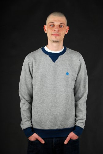 Element Protected CR Grey Heather Pullover Gr. L