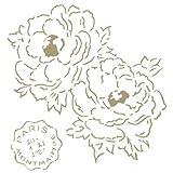 Best Tatouages temporaires sur Amazons - TODO-STENCIL Stencil Mini Deco Vintage Figurine 110 Fleurs Review