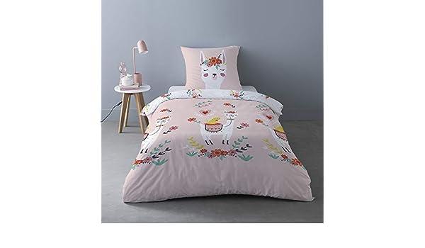 Collection Enfants So Home 100/% Cotone 2 Pezzi: 1 Copripiumino 140 x 200 cm 1 Federa 65 x 65 cm Parure da Letto per Bambini
