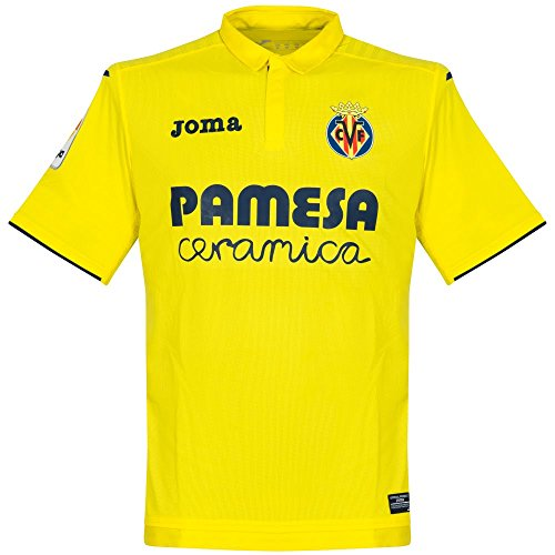 Camiseta Villarreal CF Home 2017-2018 Amarillo Talla M