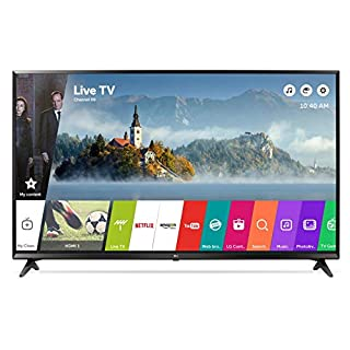 LG 43UJ630V 43 inch 4K Ultra HD HDR Smart LED TV (2017 Model)