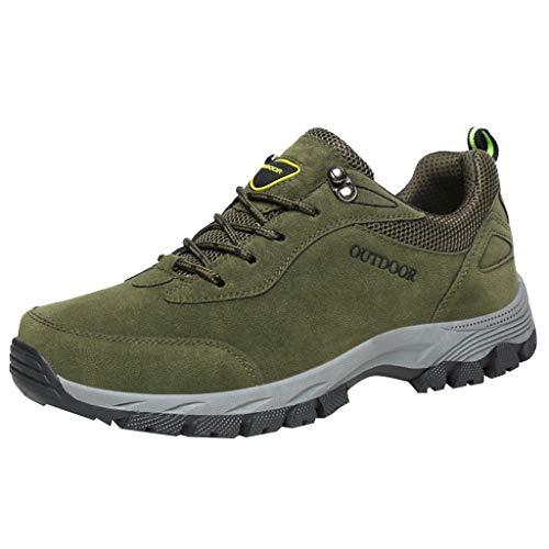 Selou Sneakers da Uomo, Uomo Outdoor Fly Knit Sneaker in Mesh Leggero Traspirante Moda Confortevole Scarpe da Corsa All'Aperto Scarpe da Trekking