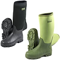 Michigan Neoprene Waterproof Wellington Boots, Sizes UK 6 - 12, Fishing Boots Wellies