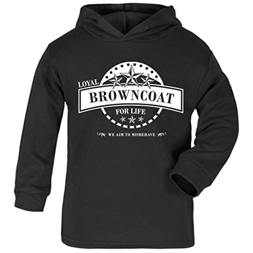 Cloud City 7 Serenity Loyal Browncoat for Life Baby and Kids Hooded Sweatshirt