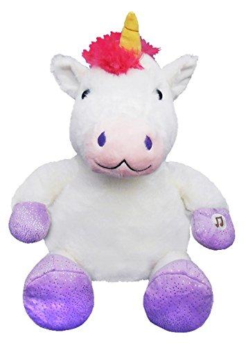 Snugglepets Giochi Preziosi Lullabrites L'ami du Dodo, Peluche avec lumières et Sons Licorne Unicorno