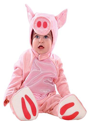 Kinderkostüm Schwein, Kleinkinderkostüm Baby Schwein, Größe:74 (Baby Jungen Schwein Kostüm)