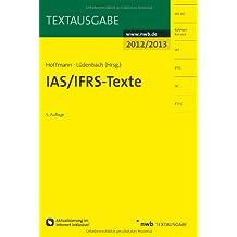 IAS/IFRS-Texte 2012/2013