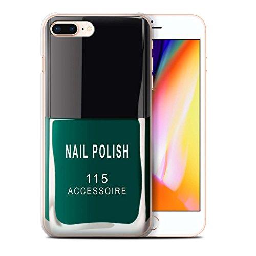 Coque de Stuff4 / Coque pour Apple iPhone 6S / Violet Design / Vernis à Ongle/Maquillage Collection Vert