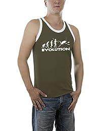 Touchlines Herren Top Evolution Dive Kontrast