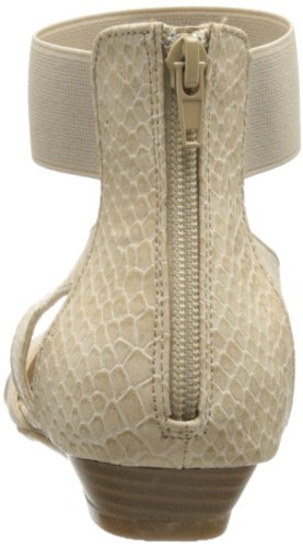 CL By Laundry Sabrina Damen Textile Gladiator Sandale Gore-Snake Cream