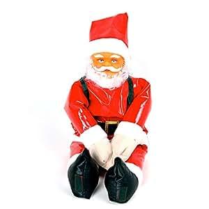 weihnachtsmann santa claus 90cm f r innen und aussen. Black Bedroom Furniture Sets. Home Design Ideas