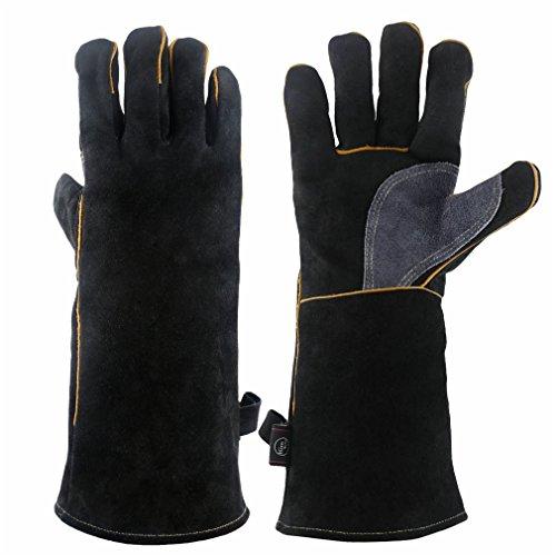 Kim Yuan, Extreme Hitze- und Fire Beständig Handschuhe Leder mit Kevlar Nähten, Perfekt für...