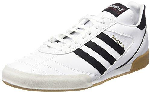 Adidas Kaiser 5 Goal, Scarpe da Calcio Uomo, Bianco (Running White FTW/Black), 44