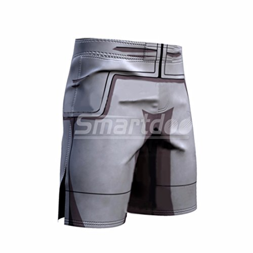 Men's 3D Dragon Ball Z Printed Trousers gray