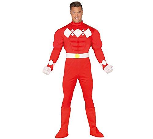 Weltraum Soldat Kostüm für Herren Stern Krieger Space Ritter Herrenkostüm Gr. M - L, Größe:L
