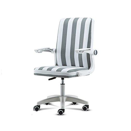 Canyi Z Computer Stuhl Bürostuhl Bürostuhl multifunktionale Gürtel PU Leder Stuhl versenkbare Sessel Swivel Lift Konferenzstuhl Multi-Color optional (Farbe : D) - Leder Swivel Sessel Stühle