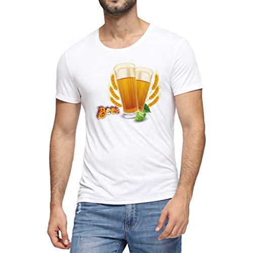 Paisley Print V-neck Tee (Herren Sommer T-Shirt, Marlene1988 Mitgliedertagen Sparen 90% T-Shirts Crew Neck Tees Tops Tops Männer T-Shirt Kapuzenshirt Kurzarm Sleeve Top)