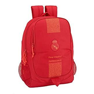 41joqqHq3GL. SS324  - Real Madrid CF- Real Madrid Mochila, Color Rojo (SAFTA 611957665)