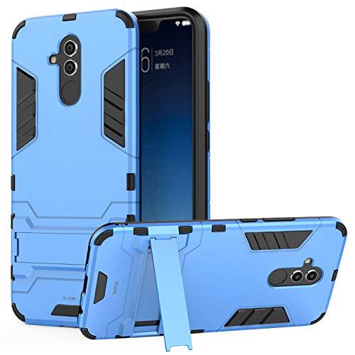 WLDDWL Coque Huawei Mate 20 Lite,Antichoc Mince Légère TPU PC Housse de  Protection Anti Rayure Étui Protecteur avec Support pour Huawei Mate 20